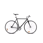 Herre cykel Classic 57 cm sort