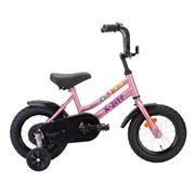 Pigecykel 12&quot; Adventure Flower Pink