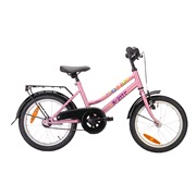 Pigecykel 16&quot; Adventure Flower Pink