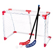 Hockey sæt junior 1 mål+2 stave/2 bolde
