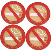 No smoking sticker sæt