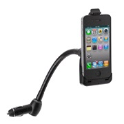 Holder/lader på flexarm iPhone 4 / 4S