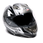 Styrthjelm V-Max Summit Sort/grå XS