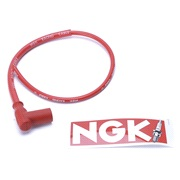 RACING Silicone t&aelig;ndr&oslash;rsh&aelig;tte/kabel