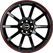 Black Strike 7,5x17 5x108/114 ET43 Ø67,1